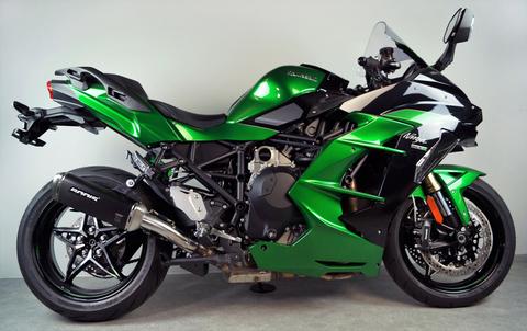 Bodis Ninja H2 SX V4-M-GE スリップオン