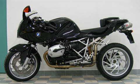 QD Exhaust BMW R1200S ヘッダー
