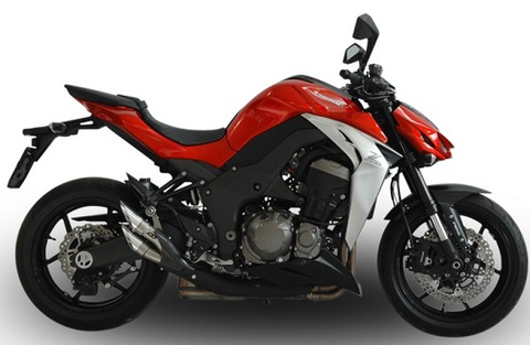 QD Exhaust Z1000/Ninja1000 POWER GUN 2014