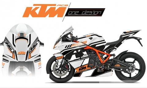 KTM RC8 レースグラフィック