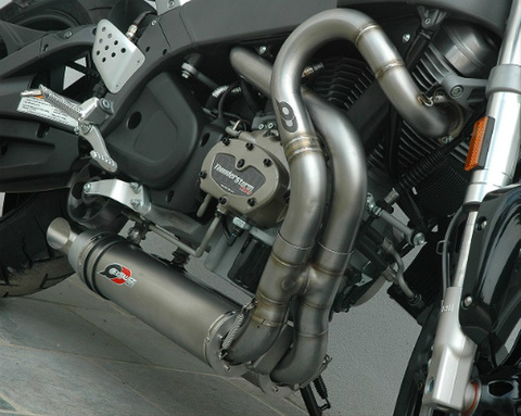 QD Exhaust Buell XB9/XB12/ULYSSES ヘッダー