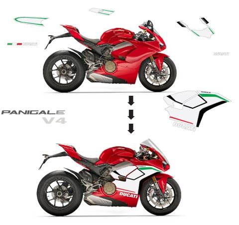 パニガーレ V4用 スペアチーレ グラフィック