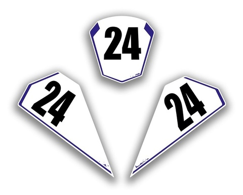 YZF-R1 15-17 レースナンバーステッカー