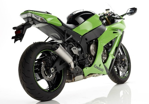 Bos exhaust ZX10R 11- マフラー
