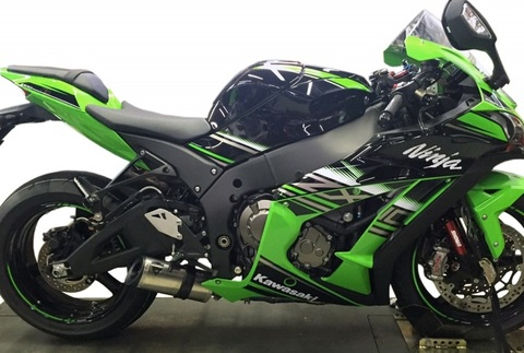 Shift-tech 16' ZX10R マフラー