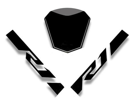 YZF-R1 15-18 フロントセクション グラフィックステッカー