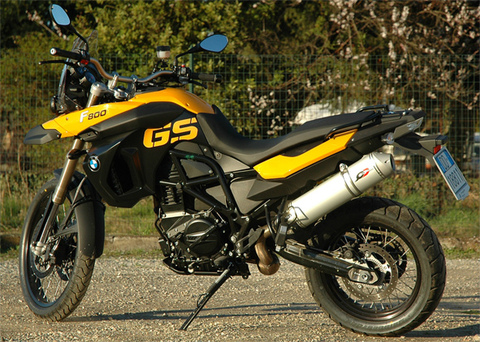 QD Exhaust BMW F 650/800 GS '08>