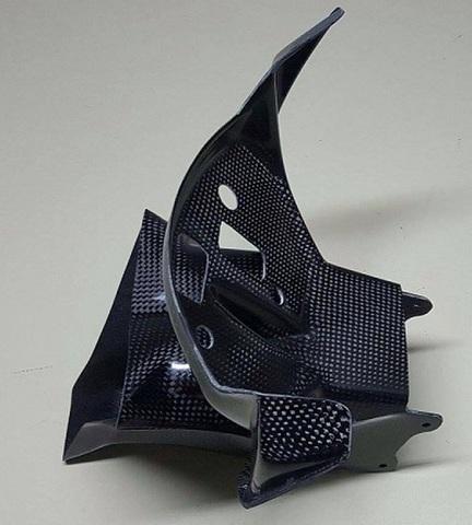 S1000RR 15-16 カーボン ラムエアダクト&メーターブラケット