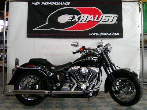 QD Exhaust ハーレー Heritage Springer