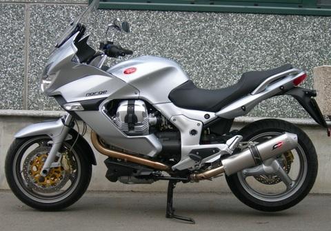QD Exhaust Moto Guzzi Norge/ Breva 1200