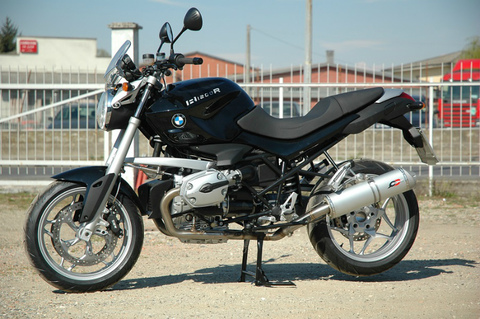 QD Exhaust BMW R1200R/S 07-