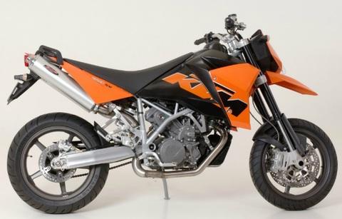 Bos exhaust KTM 950/990 Supermoto