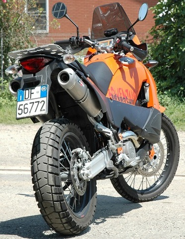 QD Exhaust KTM 950/990 SUPERENDURO