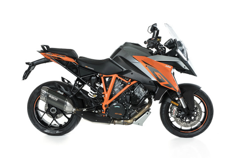 Bos exhaust KTM 1290 SuperDuke R/GT 17-18 Desert Fox スリップオン