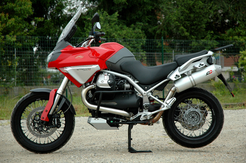 QD Exhaust Moto Guzzi Stelvio 1200
