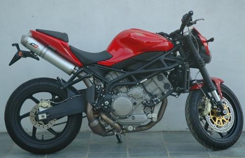 QD Exhaust  Moto Morini Corsaro 1200 マフラー