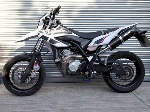 Pipewerx WR125 スリップオン 09-