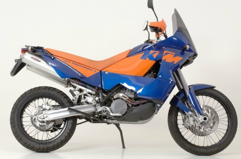 Bos exhaust KTM 950 / 990 Adventure