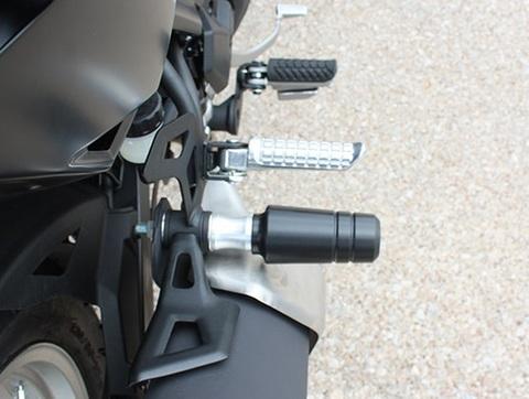 Versys-X 300 サイレンサーガード