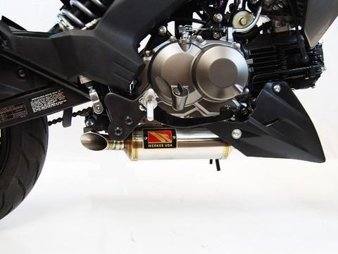 Competition Werkes Z125 Pro GP スリップオン