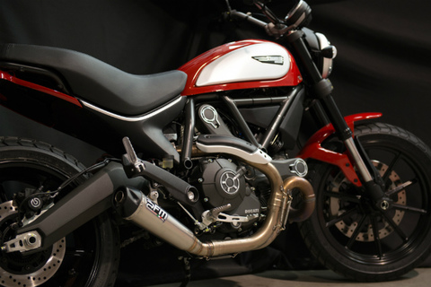 FM Projects Ducati スクランブラー スリップオン