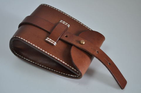 Brown leather Chaos pouch ブラウンレザーカオスポーチ
