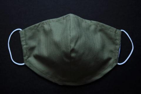 Ripstop Green Mask(XXS~L)
