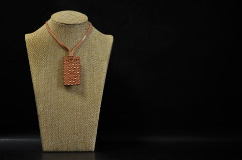 Asanoha(麻の葉文様) Necklace Naked