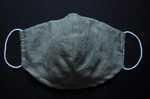 麻綿 Hemp Cotton Green Mask(XXS~L)