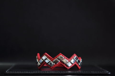 Row diamond wristband