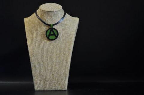 (A) Symbol Necklace LightGreen