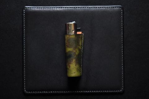 Clipper lighter case Black×Green