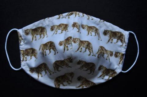 Tiger pattern Mask (L/Mens/Ladies)