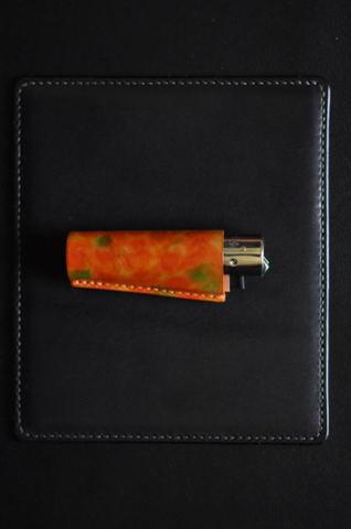 Clipper lighter case Orangemix