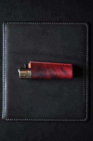 Clipper lighter case Black×Red