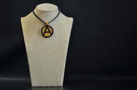 (A) Symbol Necklace Yellow