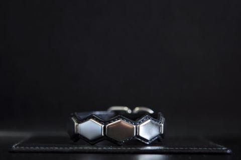 Hexagon wristband