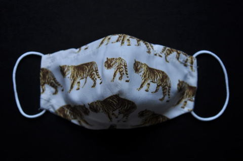 Tiger pattern Mask (S/Kids)