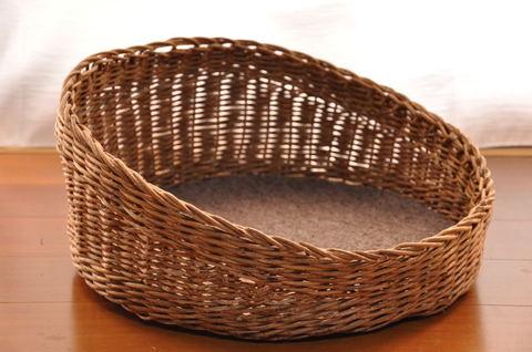 あけび蔓 猫籠 Chill basket