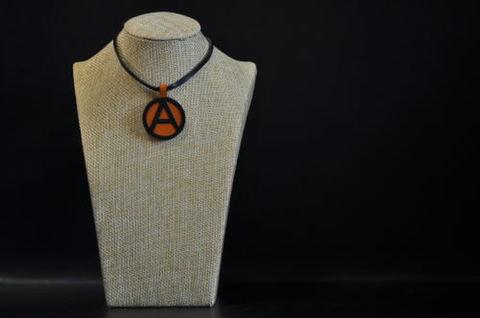 (A) Symbol Necklace Orange