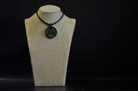 (A) Symbol Necklace KhakiGreen
