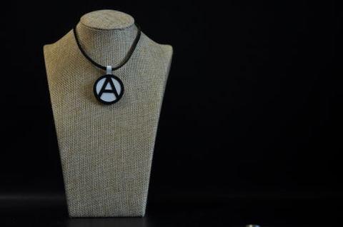 (A) Symbol Necklace White