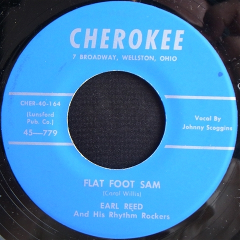 "EARL REED / FLAT FOOT SAM (7"")"