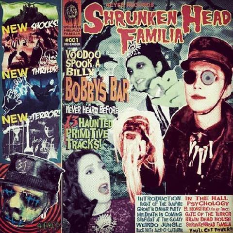 BOBBY'S BAR / SHRUNKEN HEAD FAMILIA (CD)