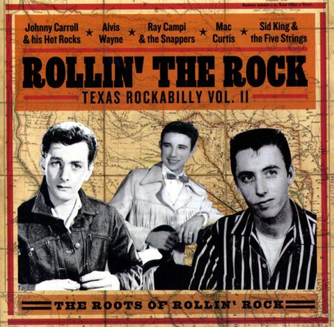 V.A / ROLLIN' THE ROCK (CD)