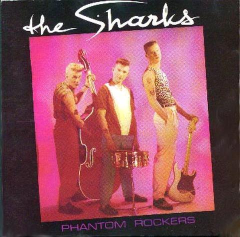 SHARKS / PHANTOM ROCKERS (CD-R)
