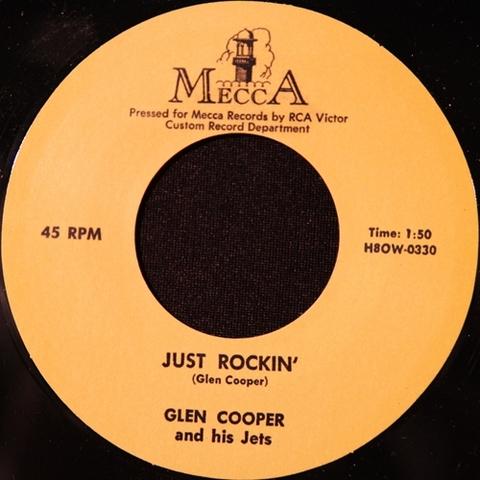 """GLEN COOPER / JUST ROCKIN' (7"""")"""