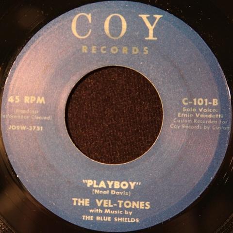"""VEL-TONES / CAL'S TUNE (7"""")"""