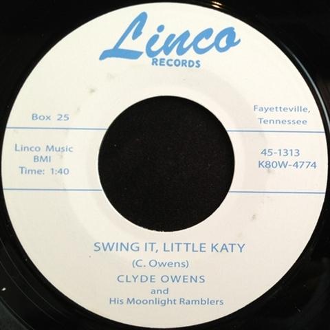 """CLYDE OWENS / SWING IT, LITTLE KATY (7"""")"""