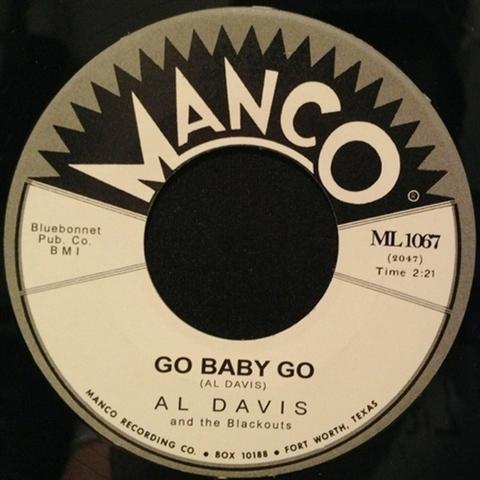 "AL DAVIS / GO BABY GO (7"")"